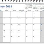 Descargar el calendario de Enero 2014