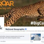 Pagina oficial de National Geographic en Facebook