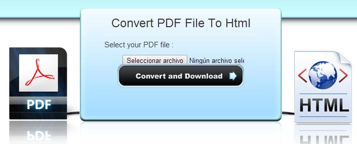 PDF a HTML