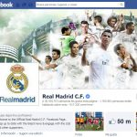 Pagina Oficial de Real Madrid en Facebook