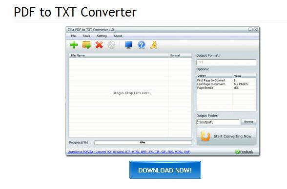 de PDF a TXT