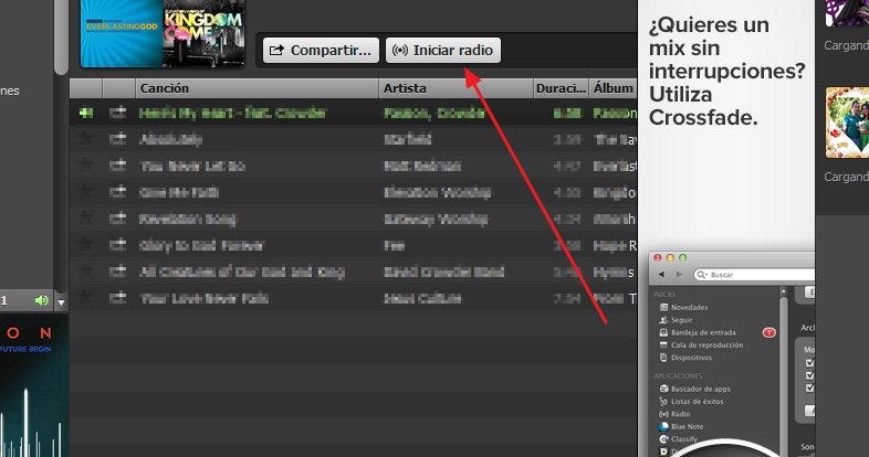 Radio en Spotify