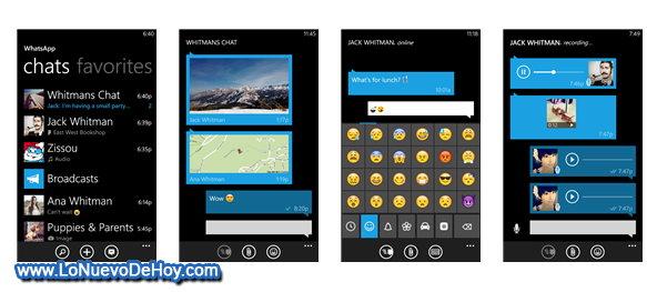 WhatsApp Messenger para Nokia Lumia-2
