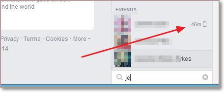 Activo hace un momento Facebook
