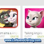 Aplicaciones Gratis que repiten lo que le decimos para Android (talking tom cat)