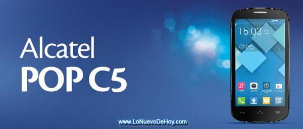 Alcatel pop C5 Tigo