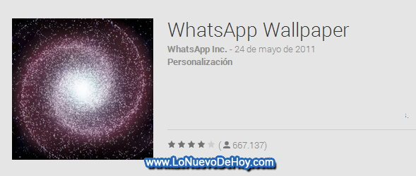 Whatsapp Permite Cambiar El Fondo De Pantalla En Su Chat: Descargar Whatsapp Wallpaper (apk) De Play Store