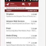 Como revisar varios correos al mismo tiempo en mi teléfono Android