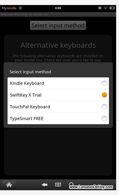 Nuevo teclado para KFHD 2