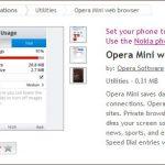 Opera mini para Nokia Asha