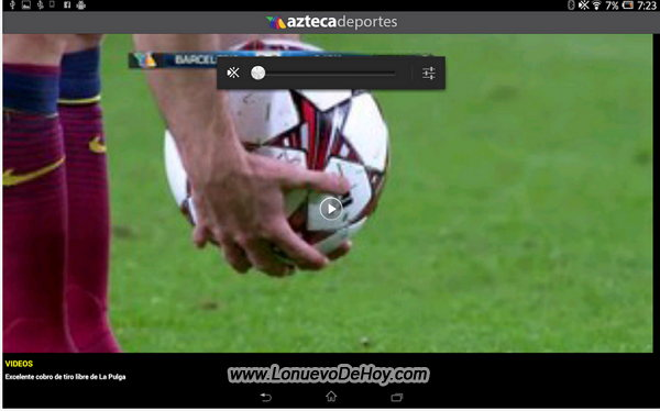 Azteca deportes para Android