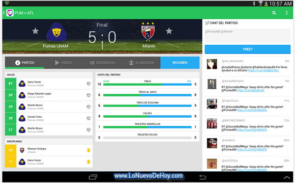 Brasil 2014 desde mi smartphone Android