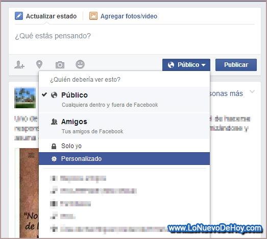 Como hacer una historia personalizada Facebook
