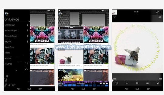 Escuchar MP3 desde Dropbox en Android
