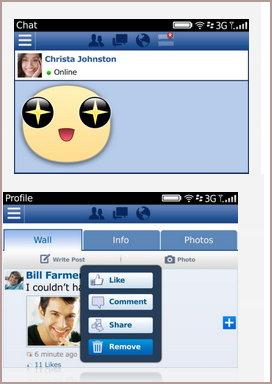 Facebook 2014 para Blackberry