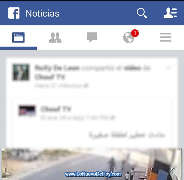 Nuevo Facebook para celulares