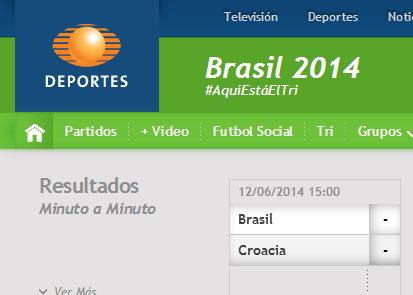 televisadeportes Mundial 2014