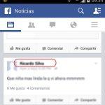 Bloquear a un amigo en Facebook desde Android