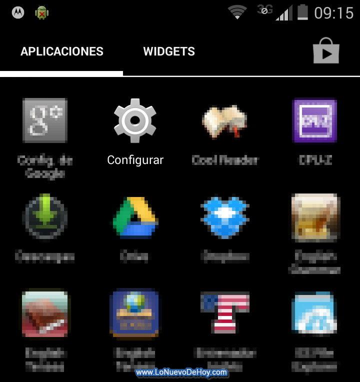 Configurar Android 4.4 KitKat