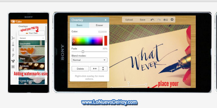PicMonkey  para Android tablets y smartphones