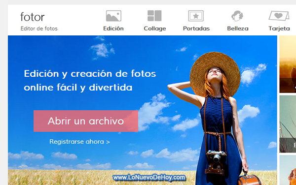 Un photoshop Online gratis