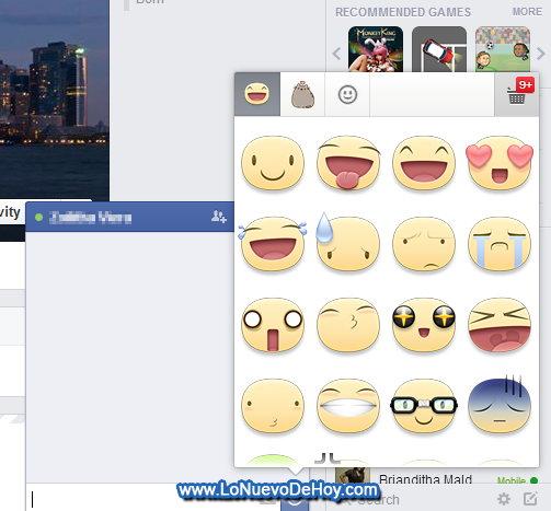 descargar Stickers para Facebook desde la PC