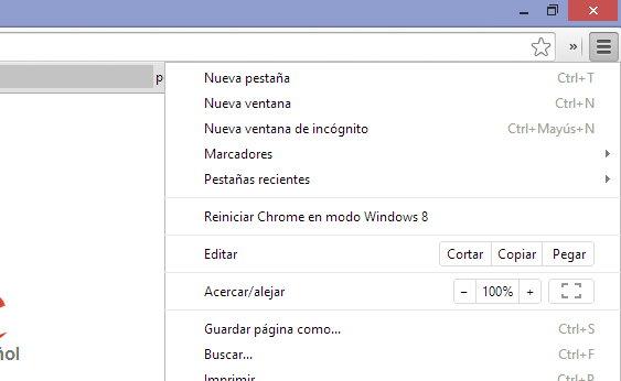 Navegacion Privada Chrome