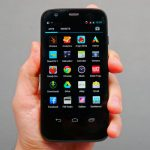 Motorola Moto G Su pantalla