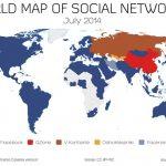 Donde Facebook es mas popular (2014)