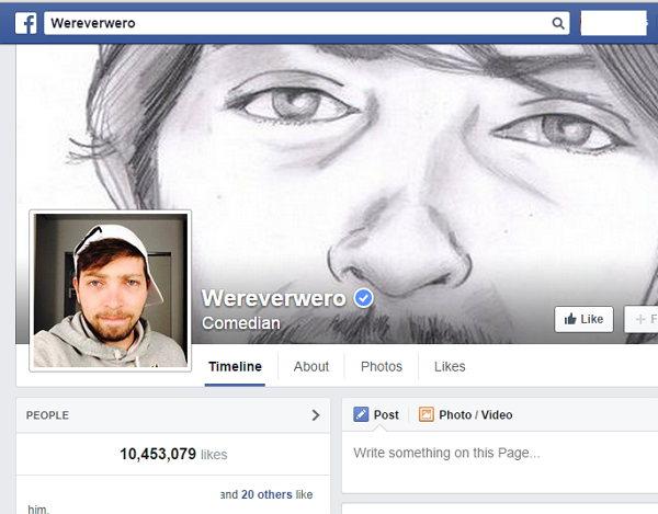 Wereverwero Facebook