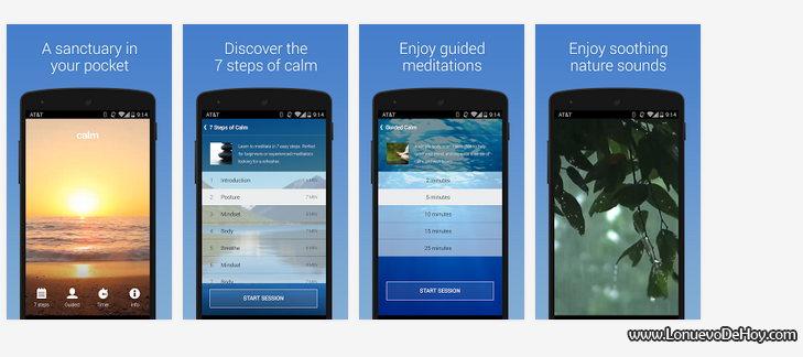 App para relajarse en Android