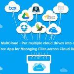 multcloud – Dropbox, Google Drive, OneDrive en un solo lugar