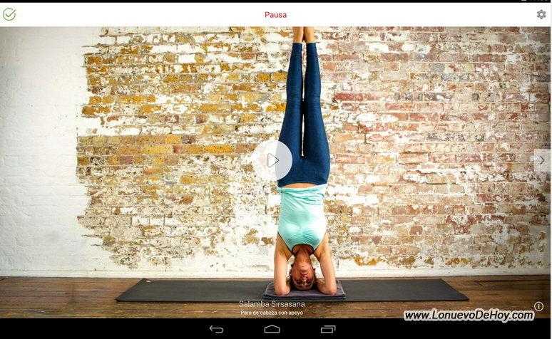 Posturas de yoga en android