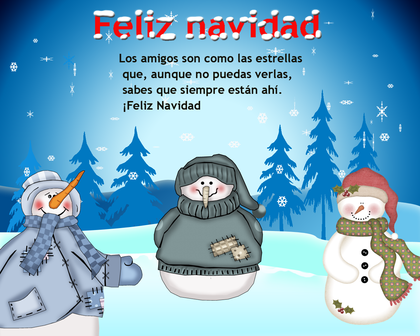 Imágenes de Navidad 2014 para twitter