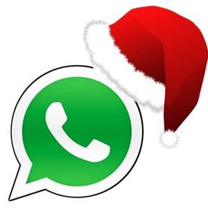 Logo de Whatsapp de Navidad
