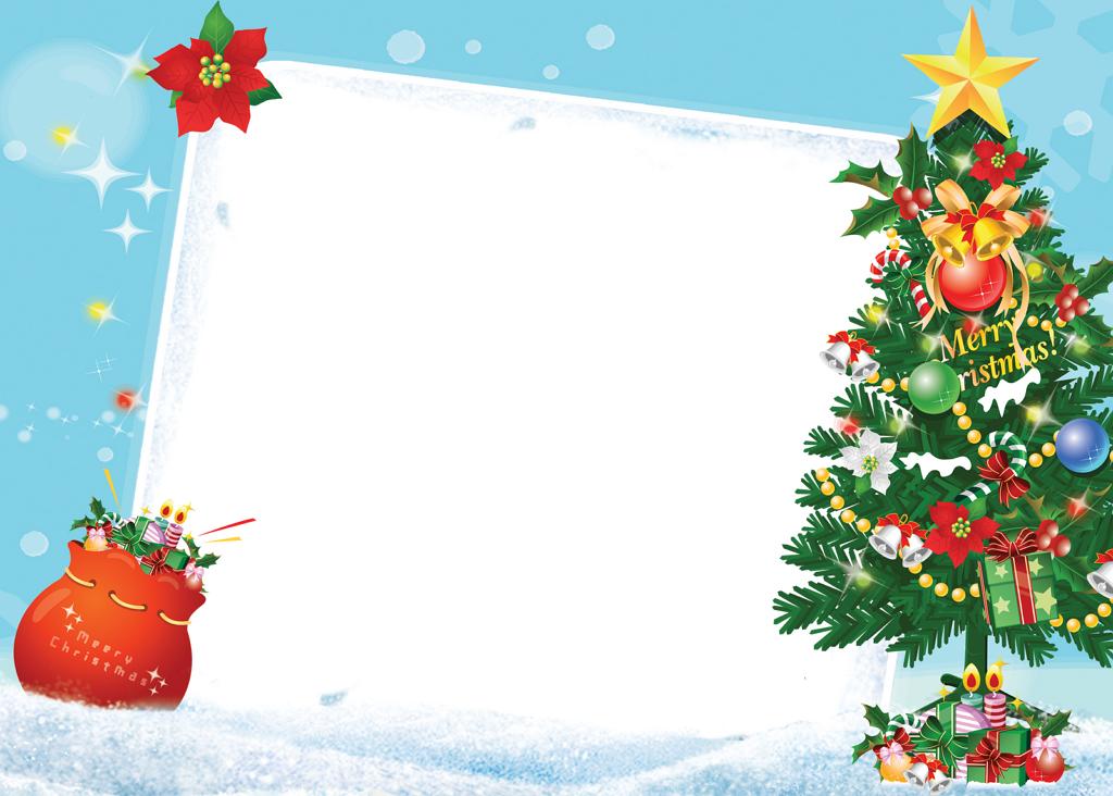 marcos para tarjetas de navidad para facebook