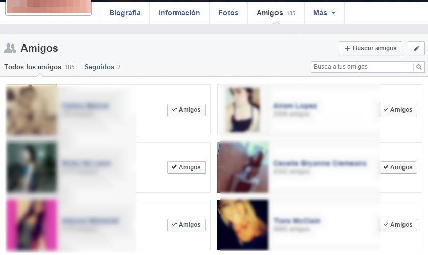 Todos Mis Amigos en Facebook