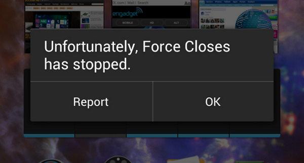 apps android que se fuerzan a cerrar