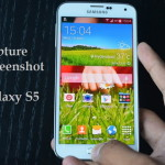 Hacer captura de pantalla en el Galaxy S