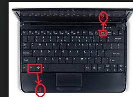 capturar pantalla laptop