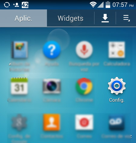 Configuracion Android