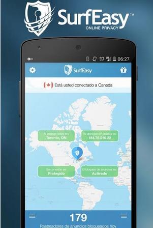 SurfEasy VPN para Android   Aplicaciones Android en Google Play