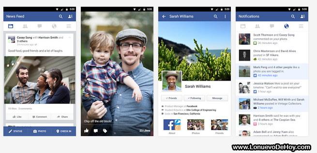 Facebook para Samsung Galaxy S6