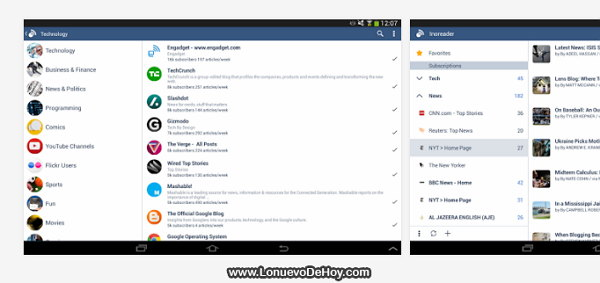 Inoreader Android