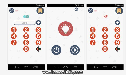 Remenber numbers Android