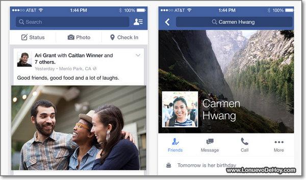 Descargar Facebook para iPad