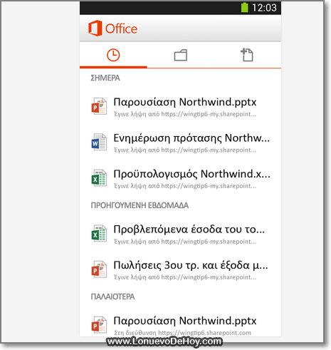 Descargar Microsoft Office Mobile