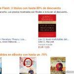 Kindle Flash – Libros hasta con 80% de descuento en Amazon
