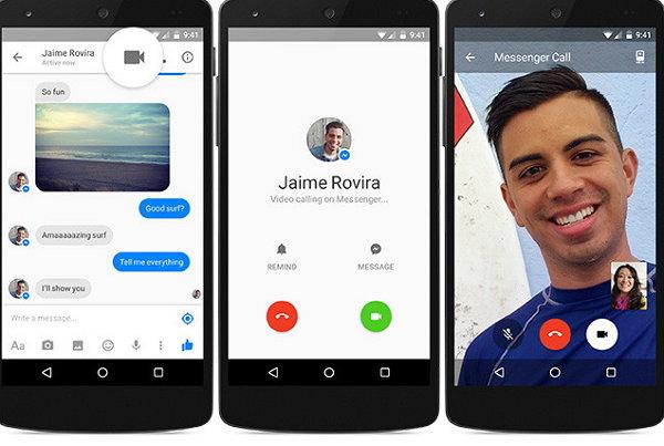 Video llamada Messenger