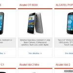Teléfonos Alcatel con Claro
